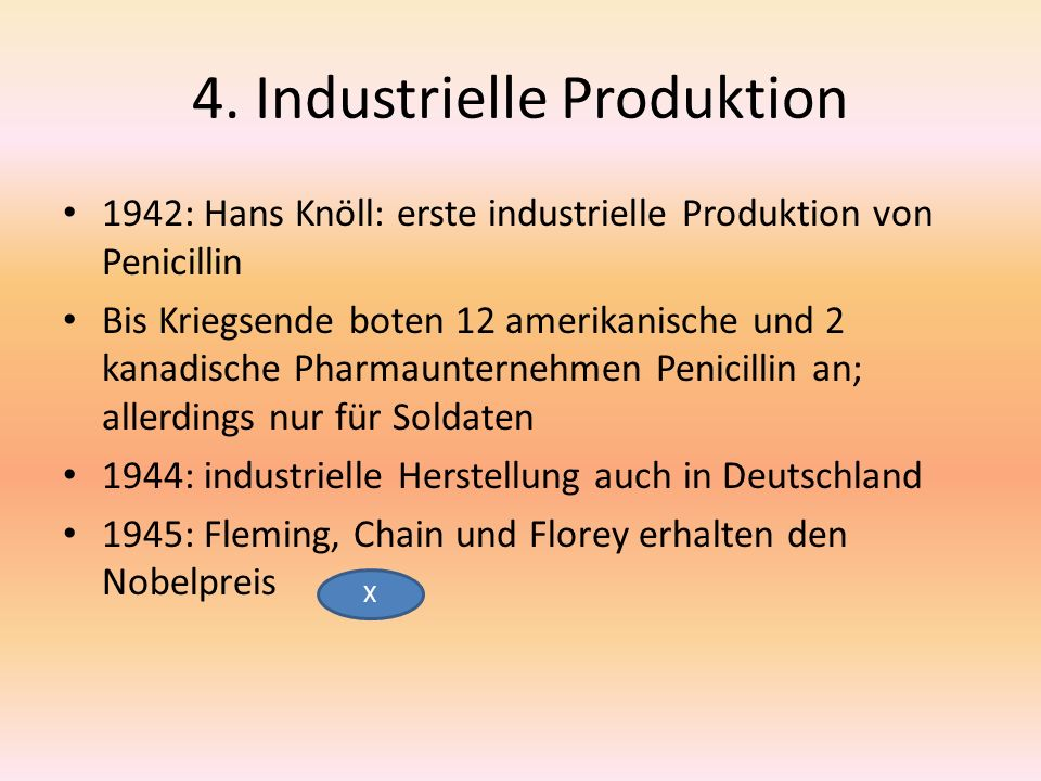 4. Industrielle Produktion