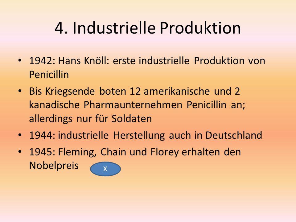 4. Industrielle Produktion