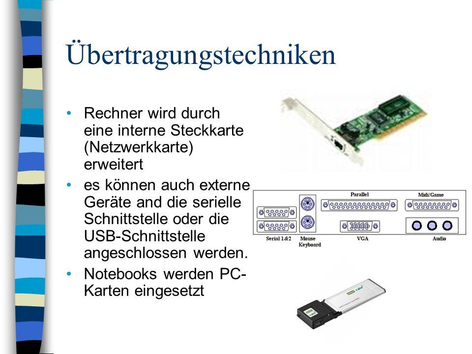 Übertragungstechniken