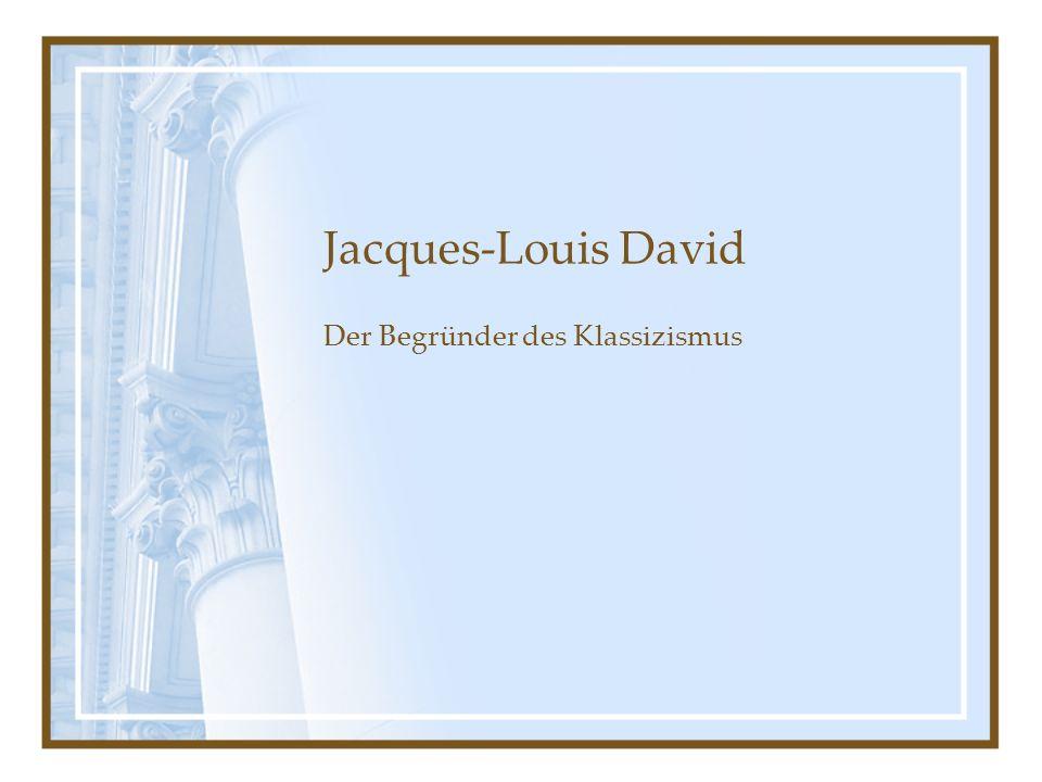 Der Begründer des Klassizismus