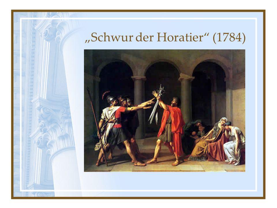 """""""Schwur der Horatier (1784)"""