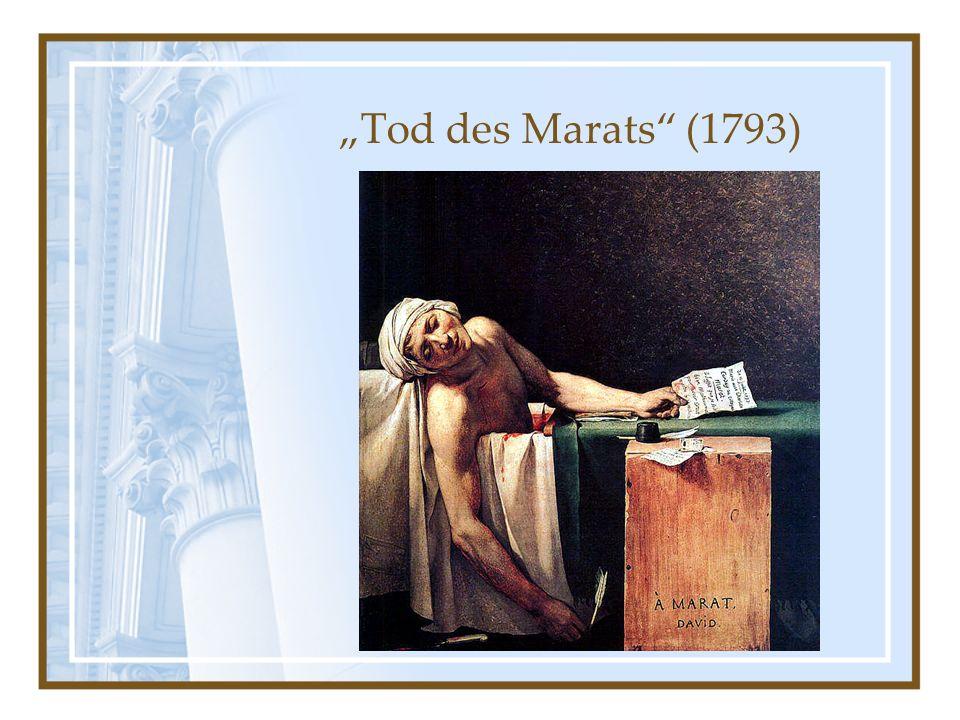 """""""Tod des Marats (1793)"""