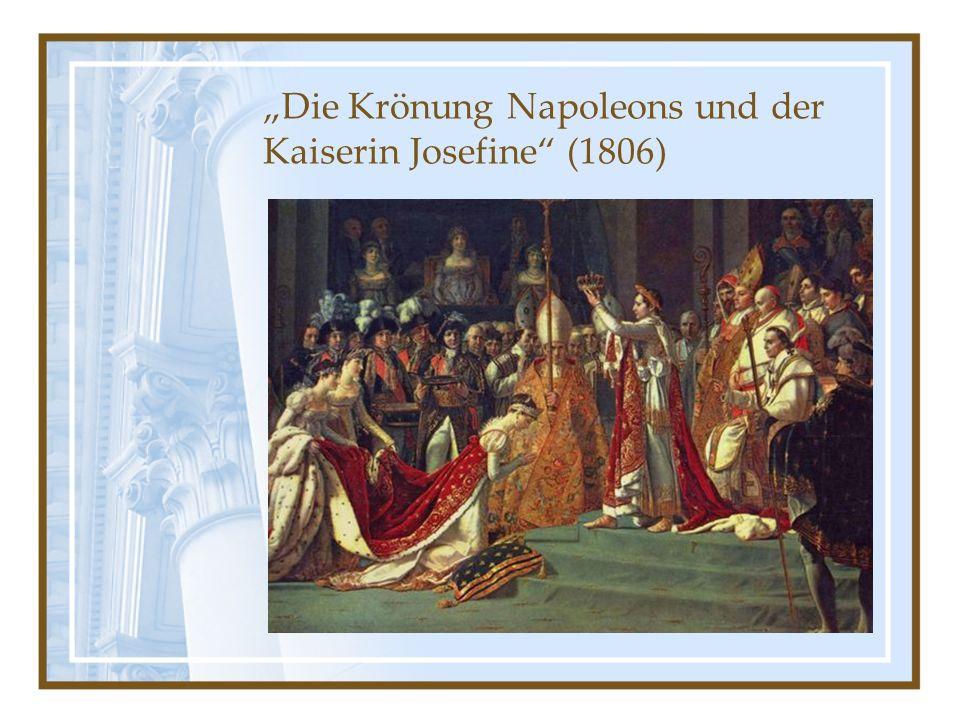 """""""Die Krönung Napoleons und der Kaiserin Josefine (1806)"""