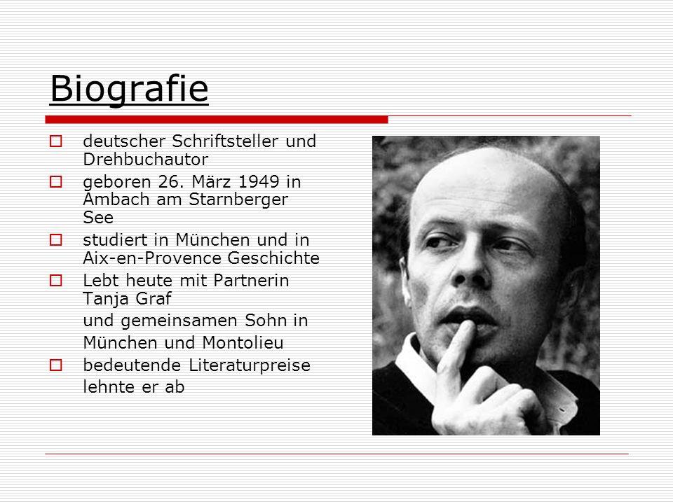 Biografie deutscher Schriftsteller und Drehbuchautor