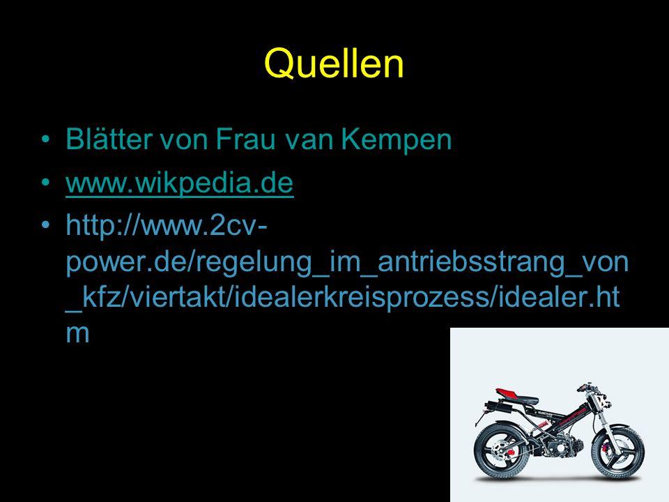 Quellen Blätter von Frau van Kempen www.wikpedia.de