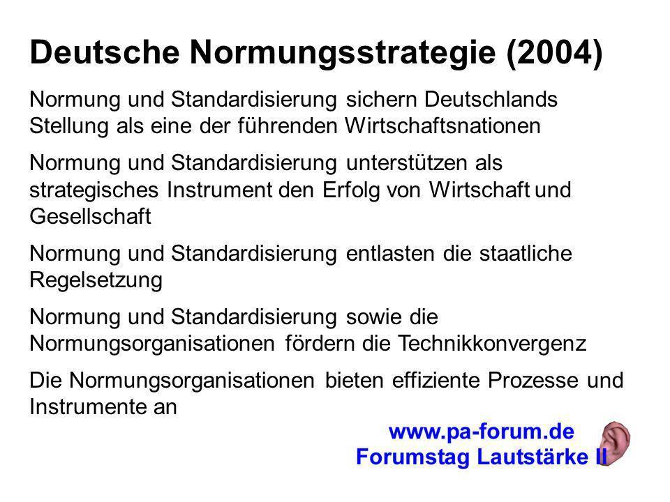 Deutsche Normungsstrategie (2004)