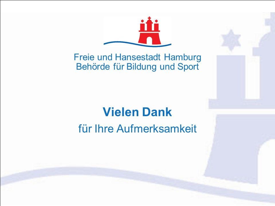 Freie und Hansestadt Hamburg Behörde für Bildung und Sport