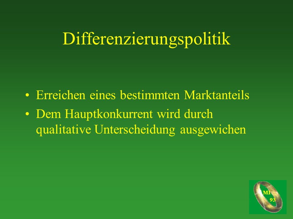 Differenzierungspolitik