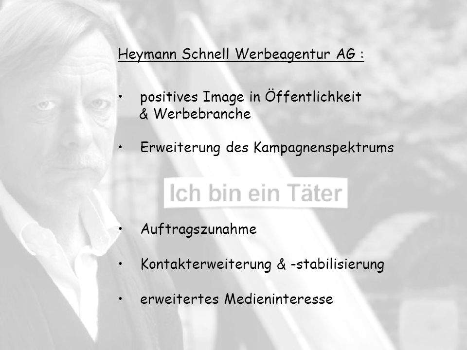 Heymann Schnell Werbeagentur AG :