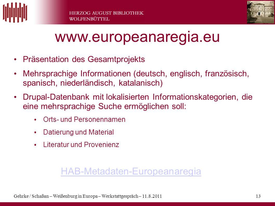 www.europeanaregia.eu HAB-Metadaten-Europeanaregia