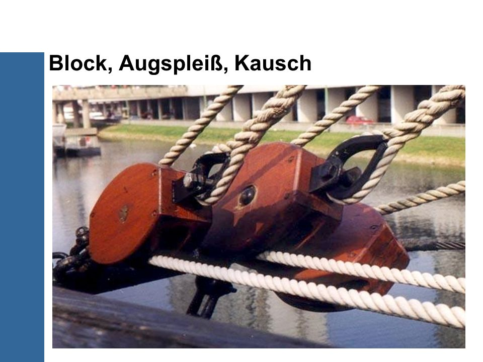 Block, Augspleiß, Kausch