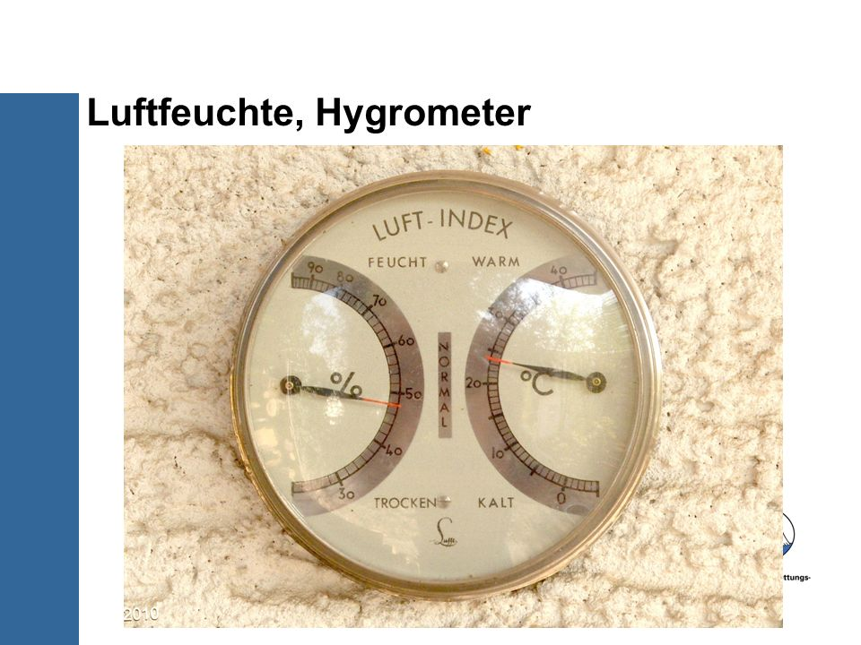 Luftfeuchte, Hygrometer