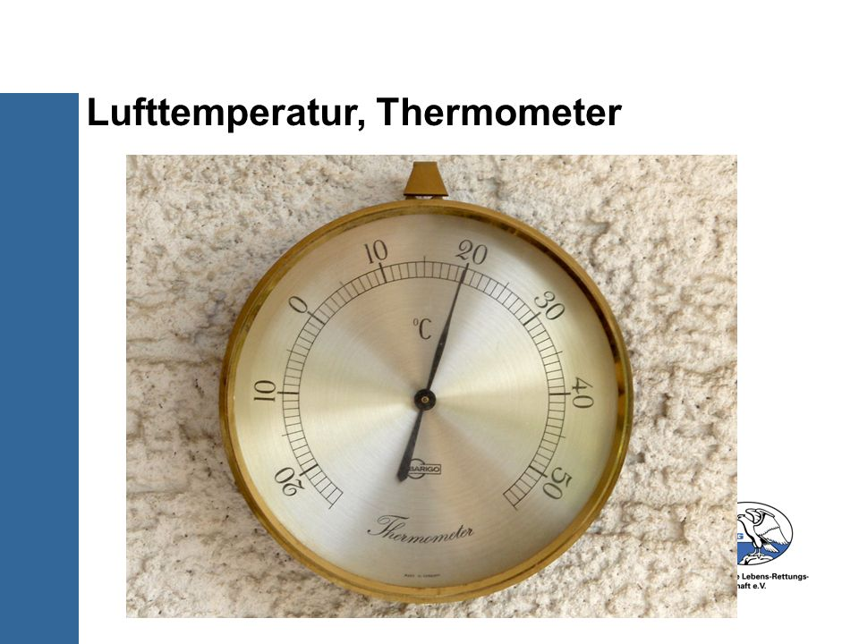 Lufttemperatur, Thermometer