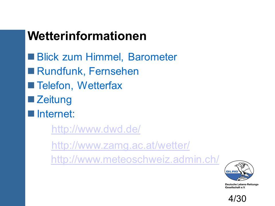 Wetterinformationen Blick zum Himmel, Barometer Rundfunk, Fernsehen