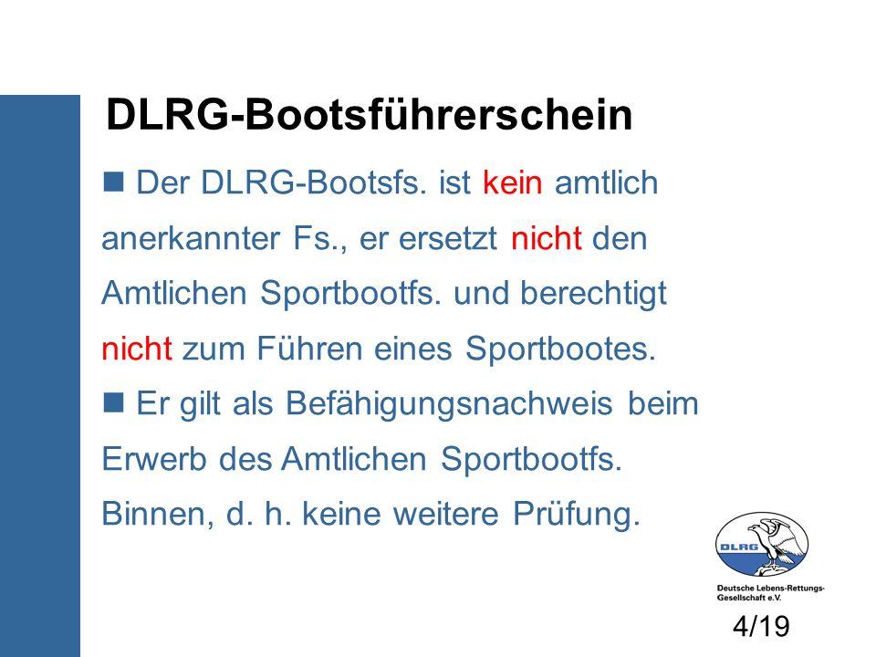 DLRG-Bootsführerschein