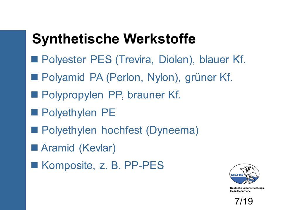Synthetische Werkstoffe
