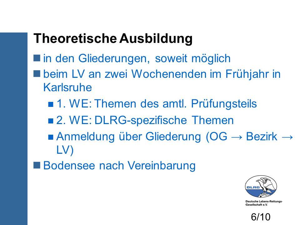Theoretische Ausbildung
