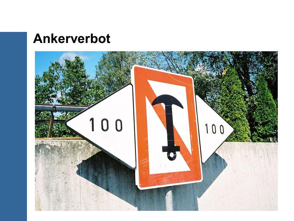 Ankerverbot