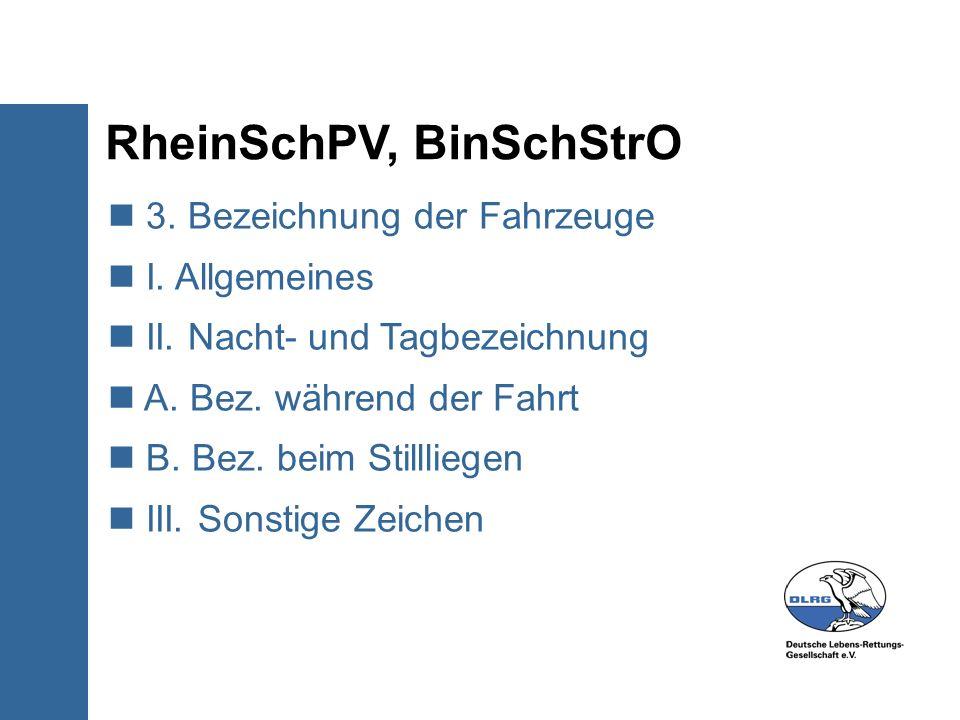 RheinSchPV, BinSchStrO