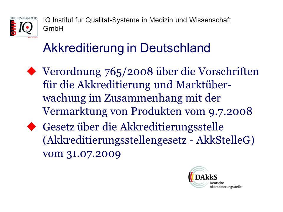 Akkreditierung in Deutschland