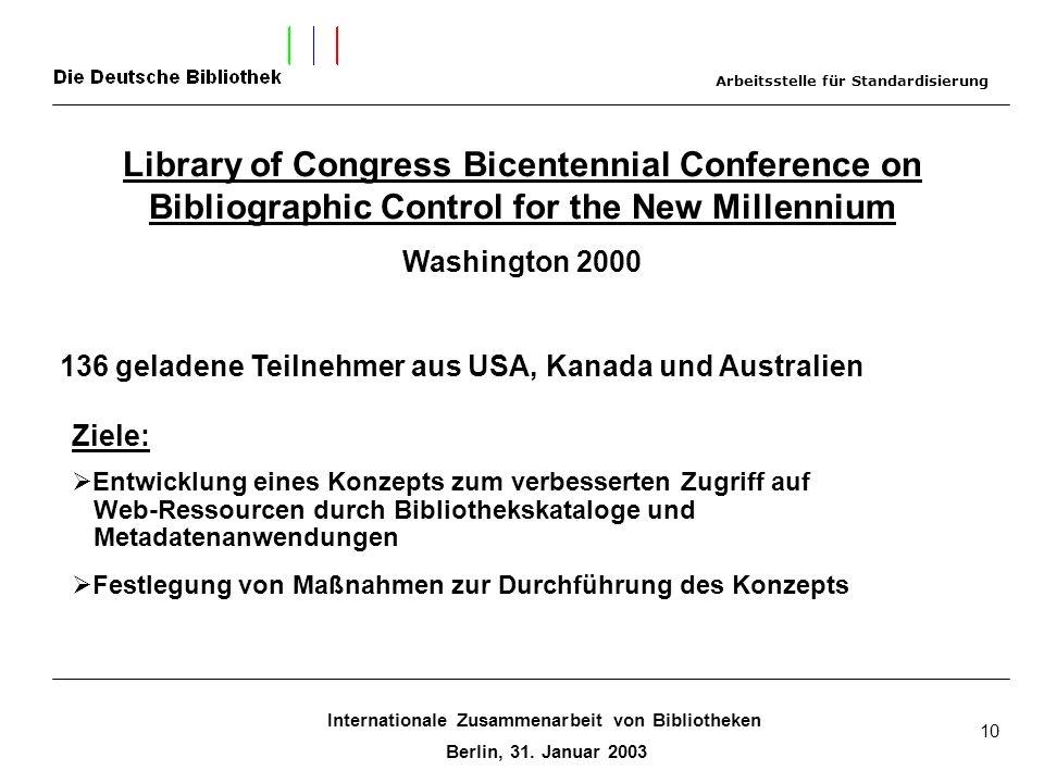 Internationale Zusammenarbeit von Bibliotheken