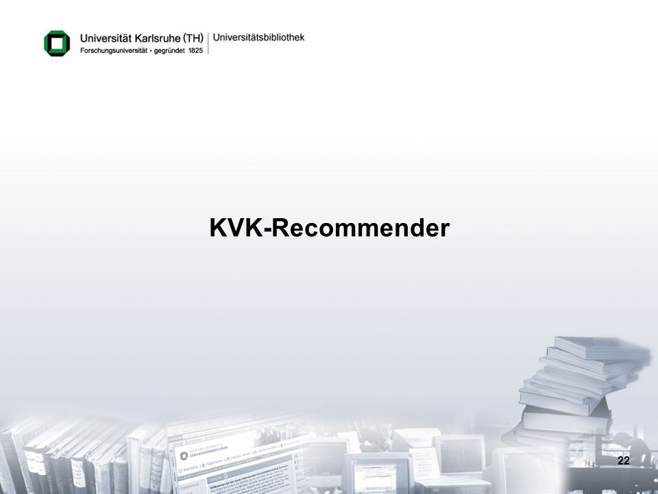 KVK-Recommender