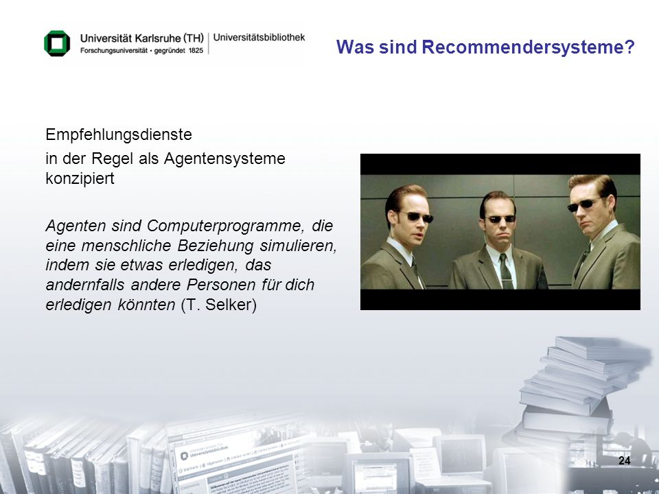 Was sind Recommendersysteme