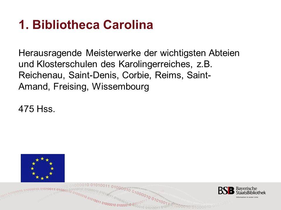 1. Bibliotheca Carolina