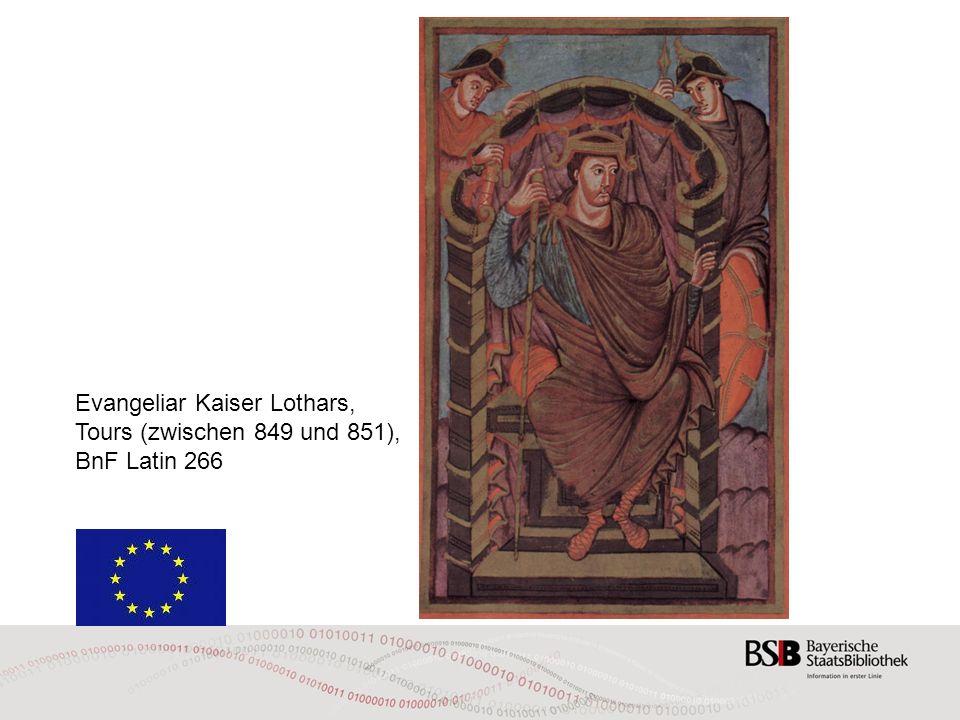 Evangeliar Kaiser Lothars, Tours (zwischen 849 und 851),