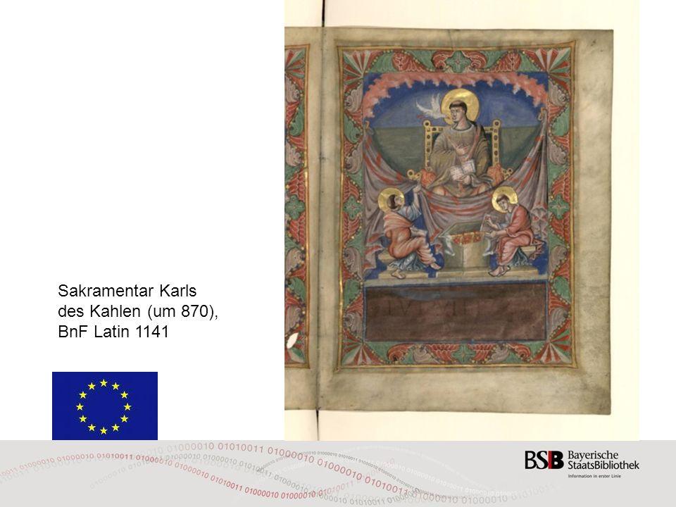 Sakramentar Karls des Kahlen (um 870),