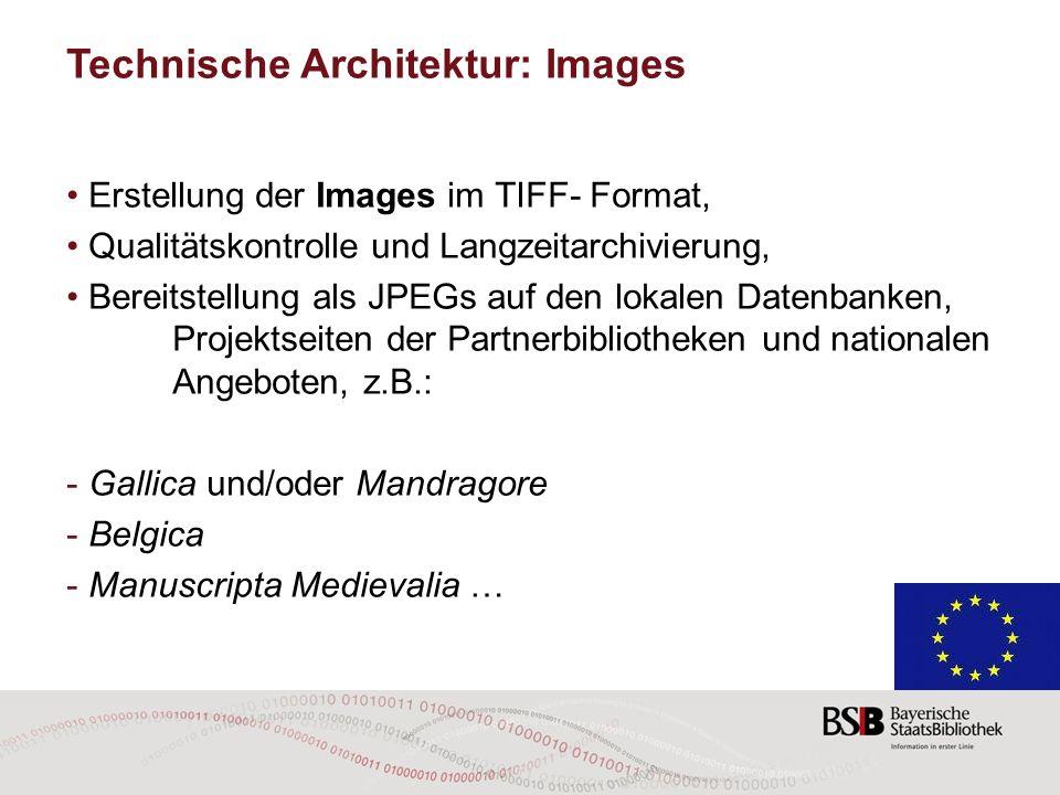 Technische Architektur: Images