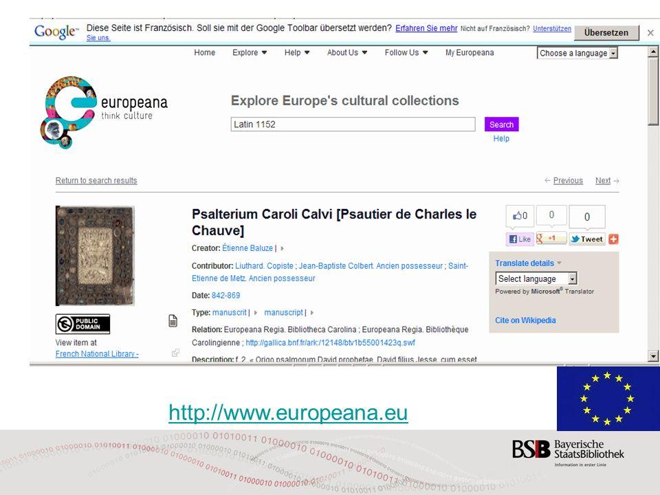 http://www.europeana.eu 29