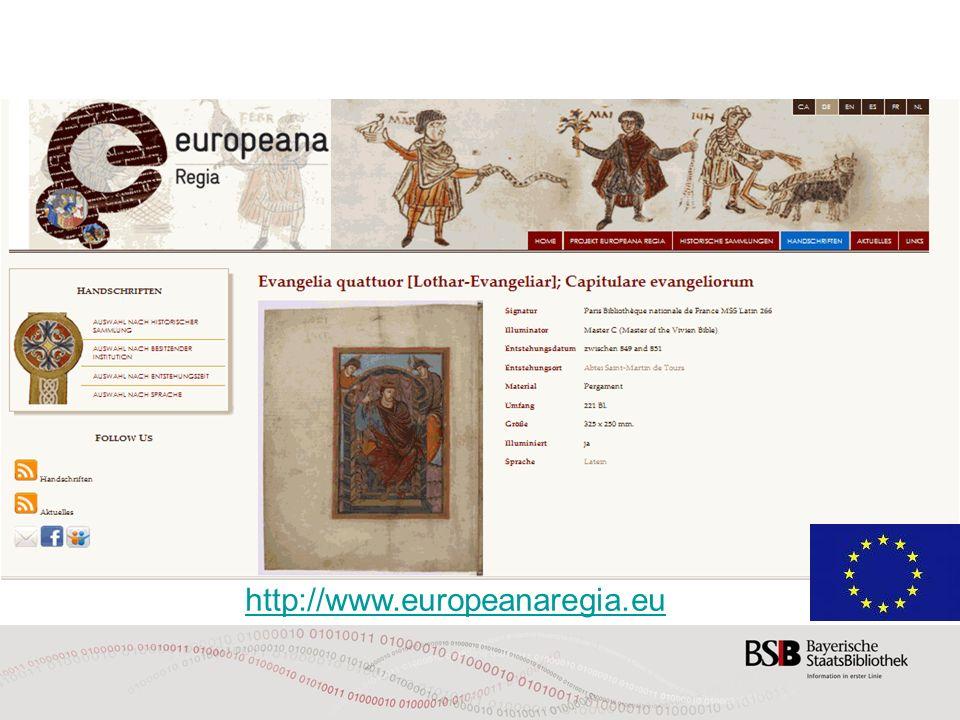http://www.europeanaregia.eu 30