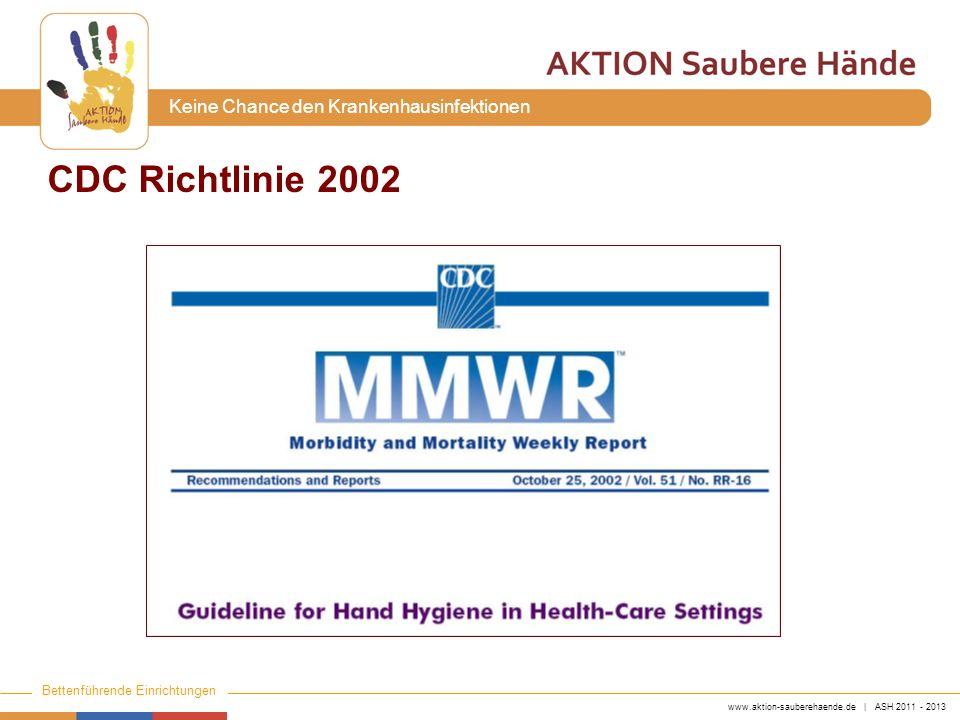 CDC Richtlinie 2002