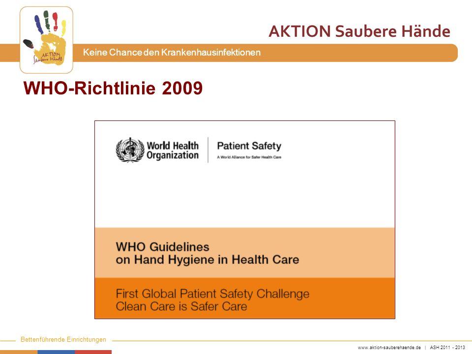 WHO-Richtlinie 2009