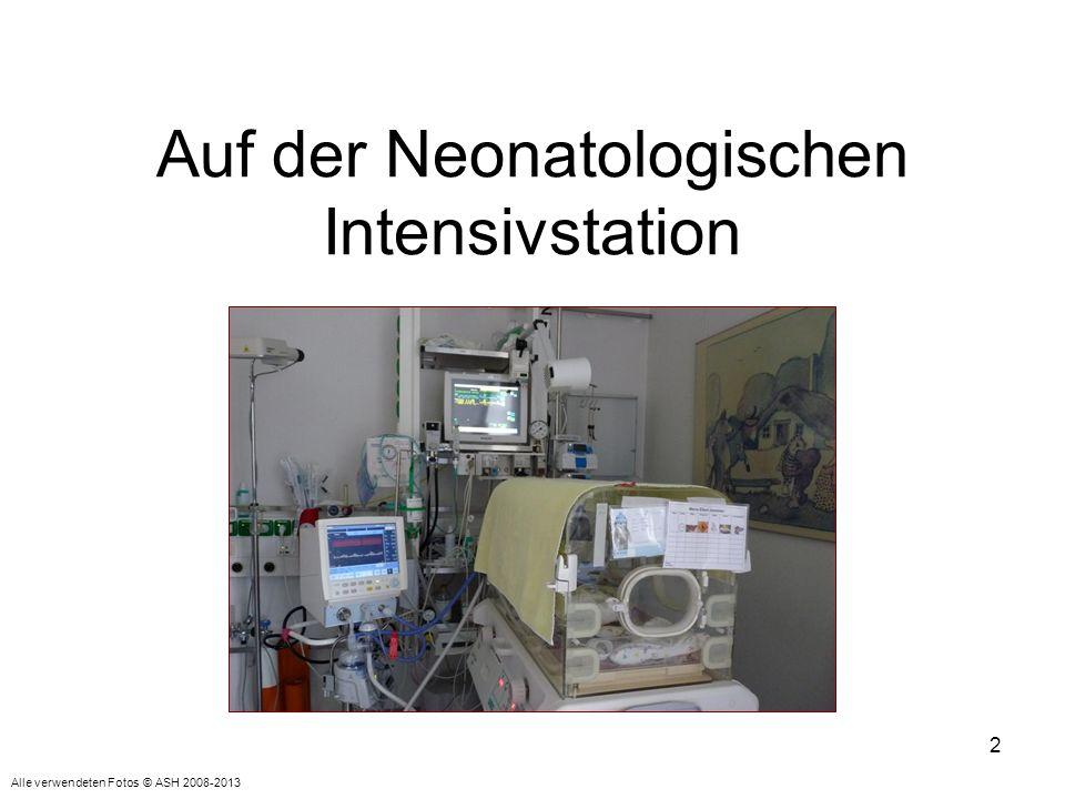 Auf der Neonatologischen Intensivstation