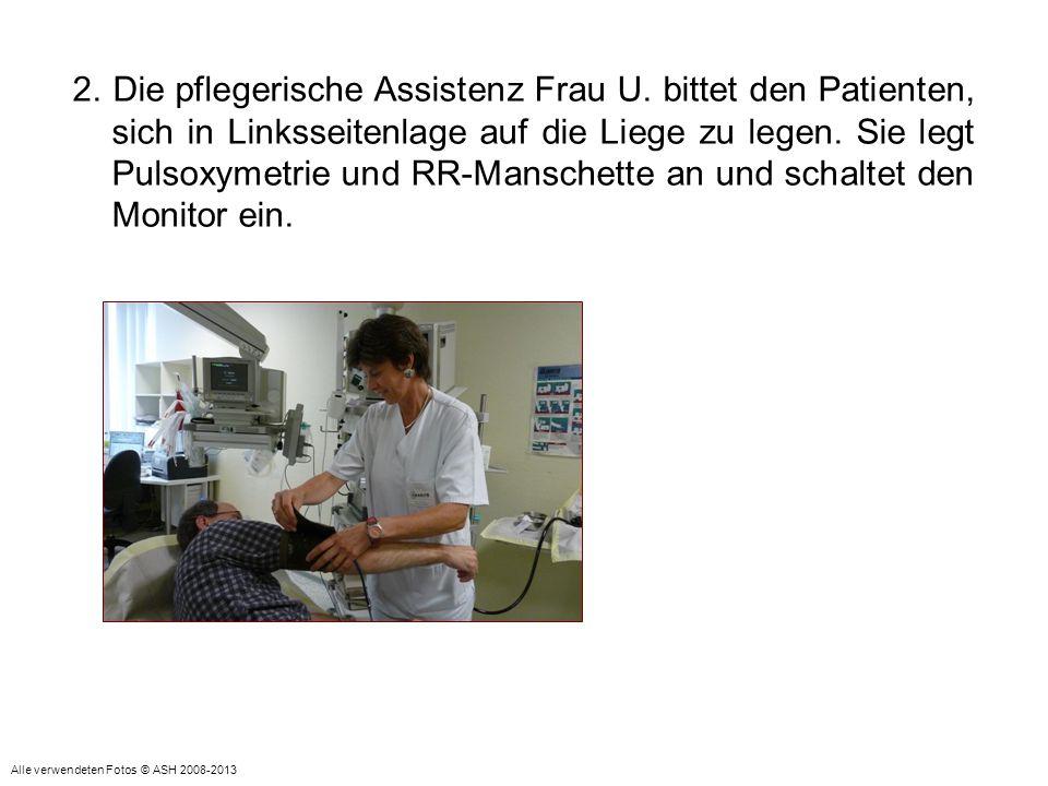 2. Die pflegerische Assistenz Frau U