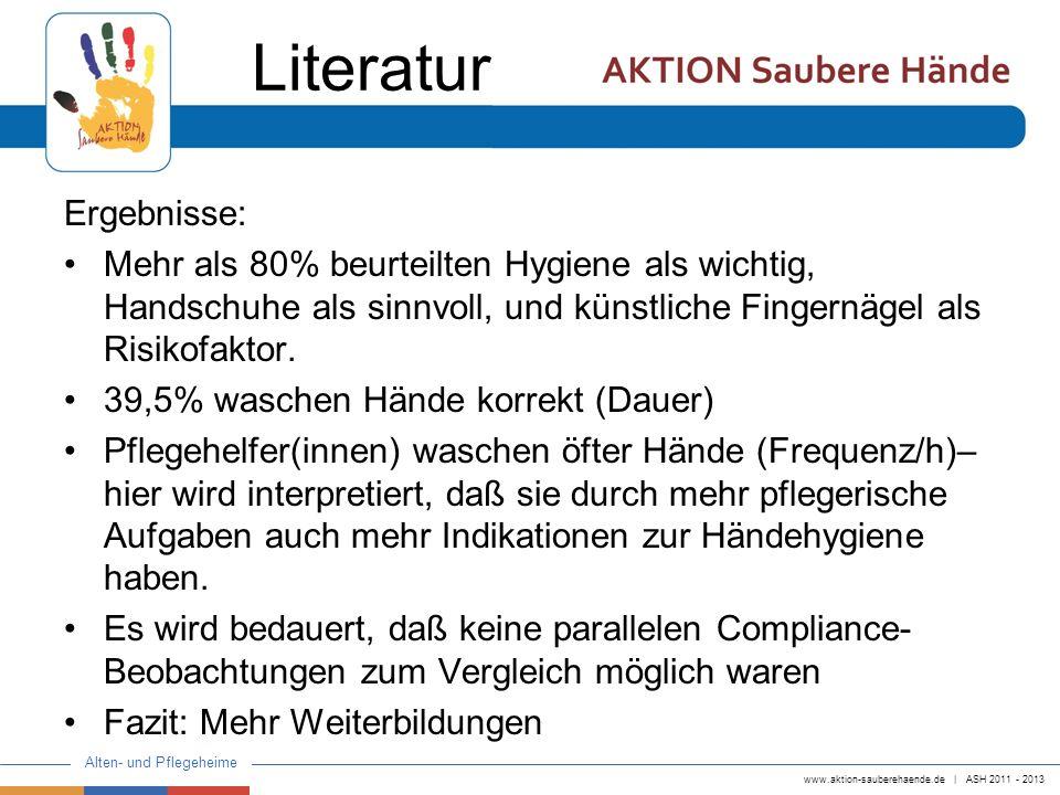 Literatur Ergebnisse:
