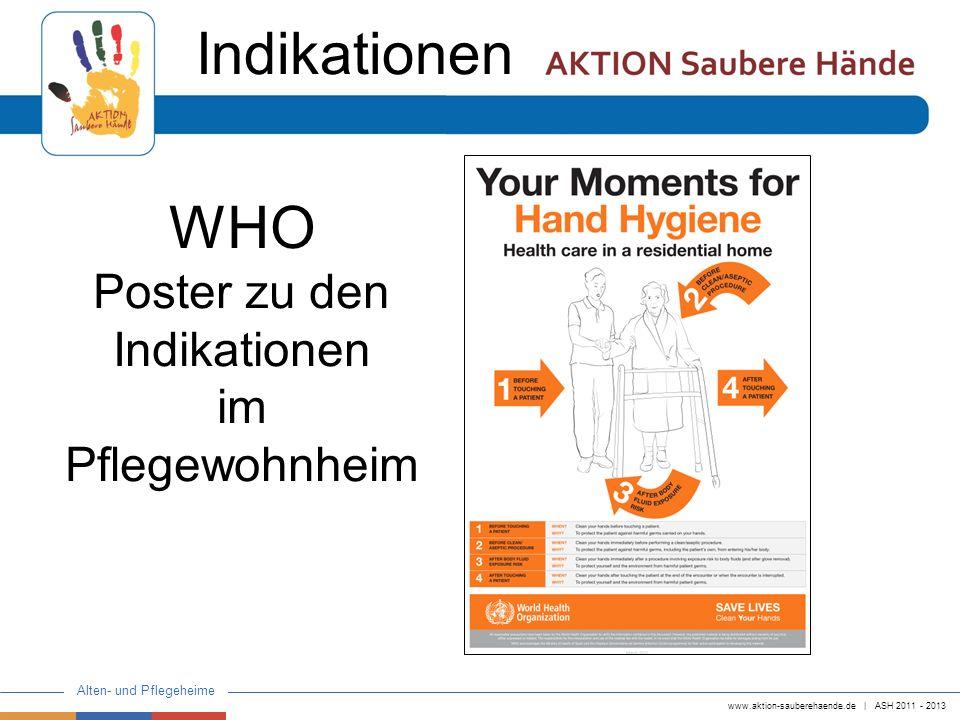Poster zu den Indikationen