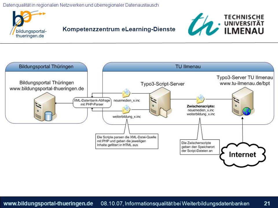 Kompetenzzentrum eLearning-Dienste