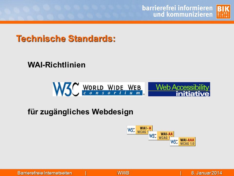 Technische Standards: