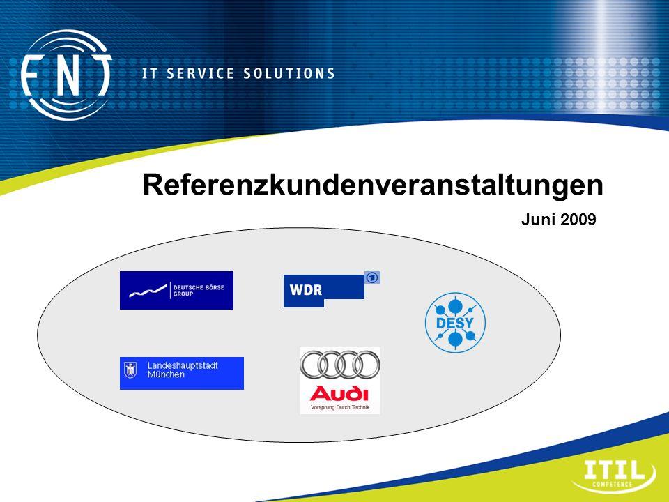 Referenzkundenveranstaltungen Juni 2009