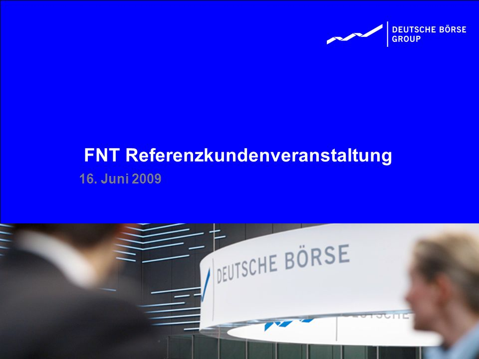 FNT Referenzkundenveranstaltung