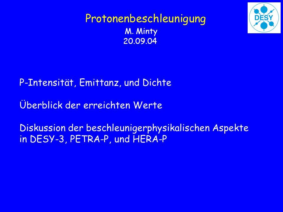 Protonenbeschleunigung