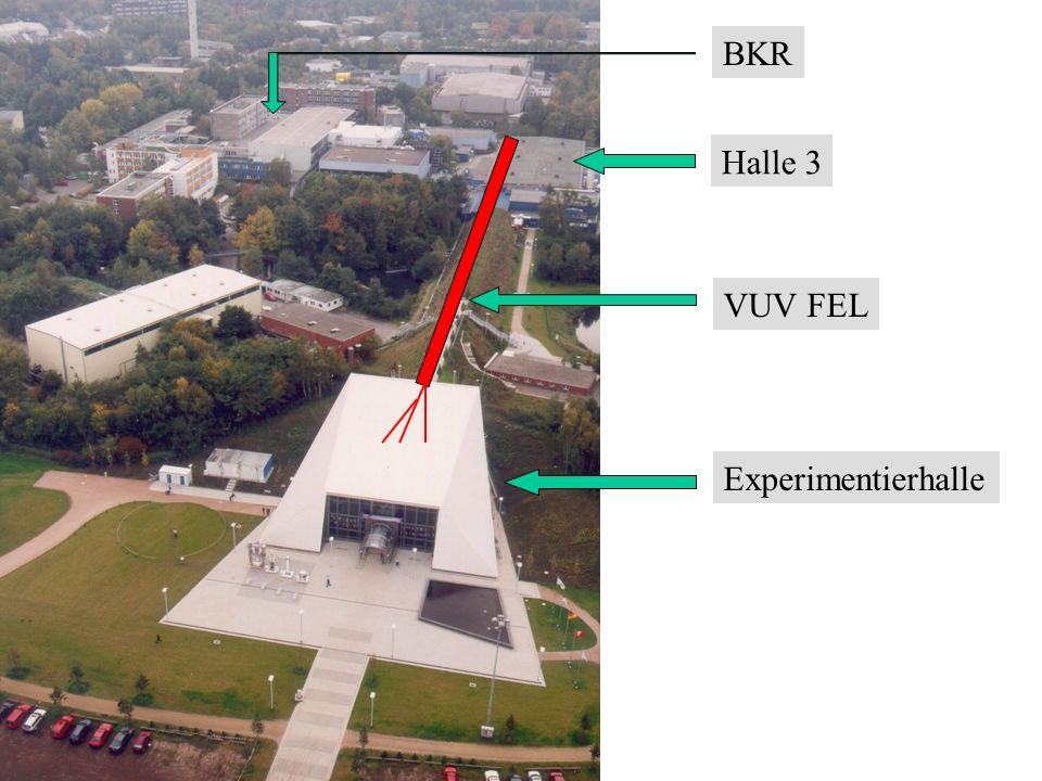 BKR Halle 3 VUV FEL Experimentierhalle