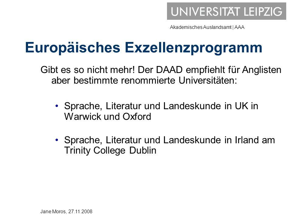 Europäisches Exzellenzprogramm