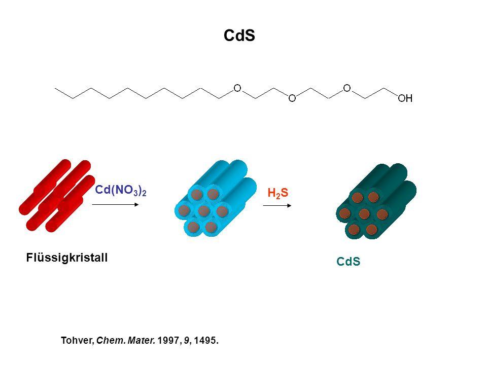 CdS Cd(NO3)2 H2S Flüssigkristall CdS