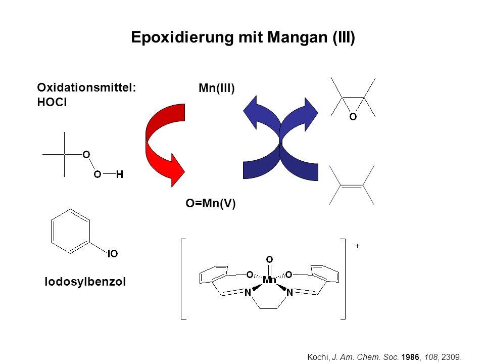 Epoxidierung mit Mangan (III)