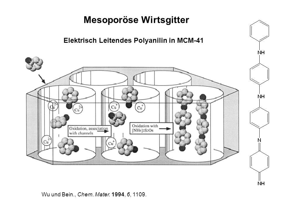 Mesoporöse Wirtsgitter