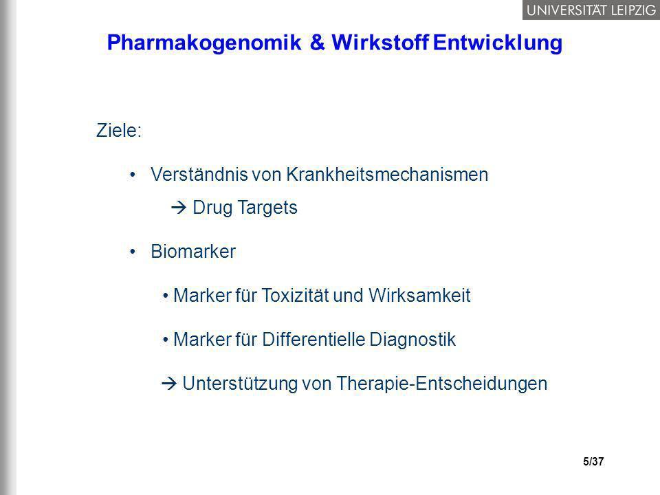 Pharmakogenomik & Wirkstoff Entwicklung